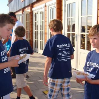 Sfeervolle barbecue voor de E-pupillen (3-6-2011)