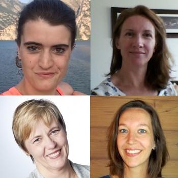 Sara, Marjo, Jorien en Michelle welkom bij Loopgroep Maaspoort!