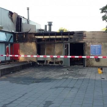 Politie vermoedt brandstichting Martinus van Beekschool