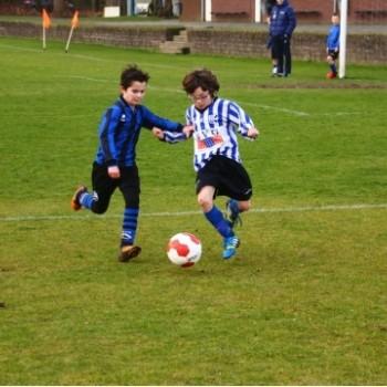 Quick Boys E3 - Blauw Zwart E1  (4-0)