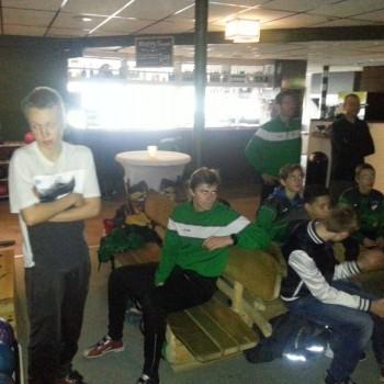 Trainingsdag/teamuitje 21-11-15
